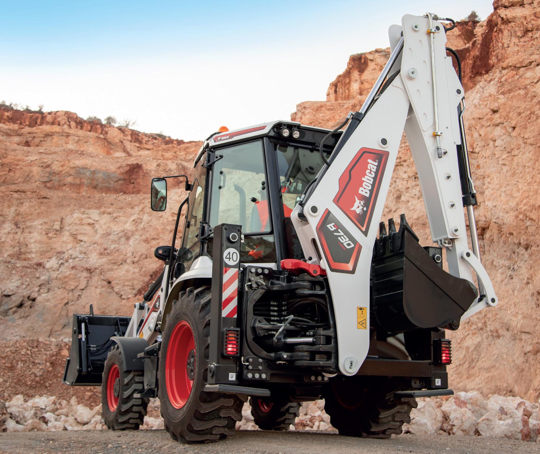The TBL B730 R-Series Digger Loader