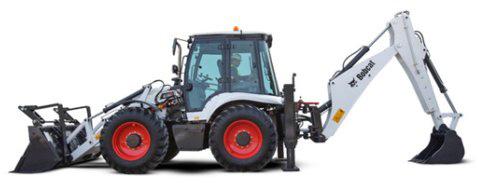 Bobcat B780 excavator for hire