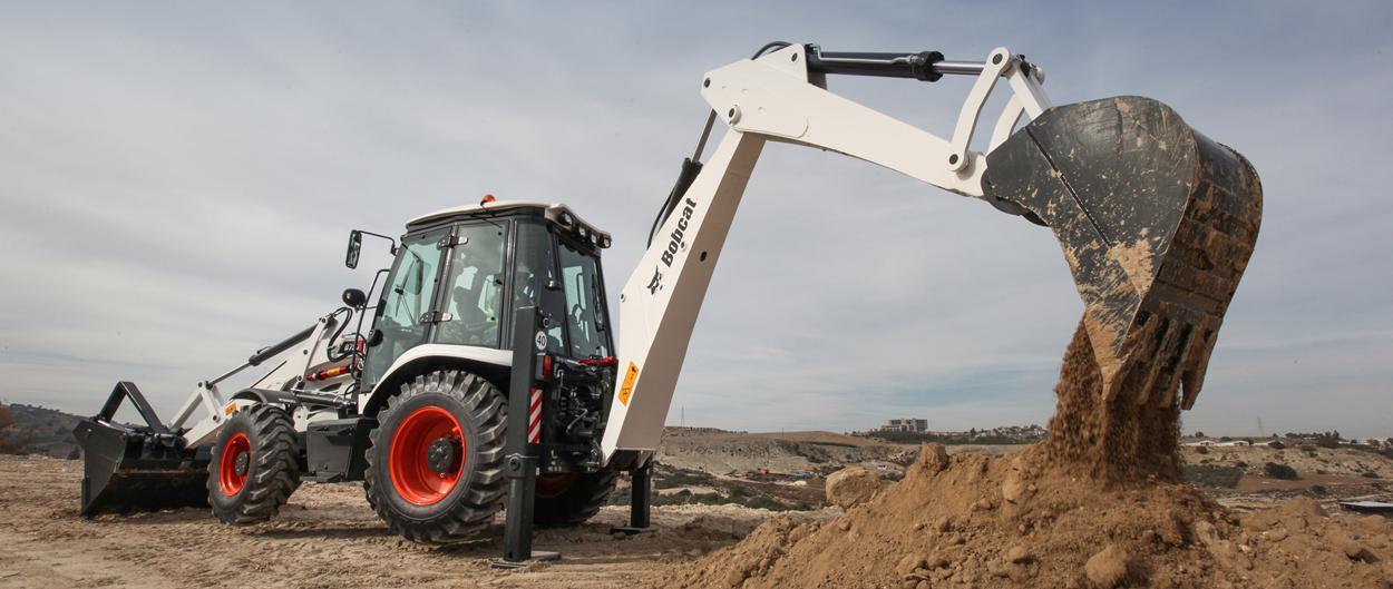 Bobcat b750 backhoe loader b750 100 hp 8000 kg